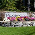 ridgewood, stone, bushes, plants, garden, flowers