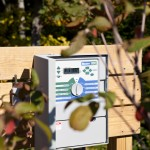 irrigation system controller outside